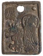 Chang Ming Fu Gui Plaque Charm (reverse side)