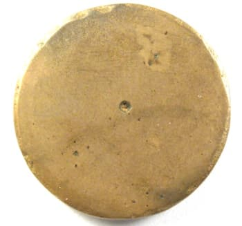 Reverse side of Chinese erotic coin or charm