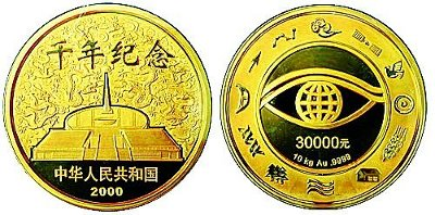 China's Largest Gold Coin