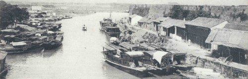 The Grand Canal in Suzhou during the Qing dynasty