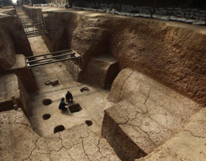 Archaeologists believe the tomb belongs to Emperor Jiemin of Northern Wei