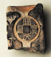 'Kai yuan tong bao' clay mould