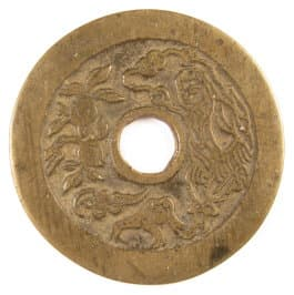 Ancient Chinese charm -- Liu Hai and Three-Legged Toad