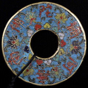 Chinese cloisonne charm