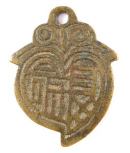 Peach charm obverse side