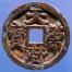 "Kingdom of Chu ""Tian Ce Fu Bao"" Gilt Bronze Coin thumbnail"