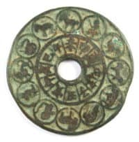 Old                       Chinese zodiac charm